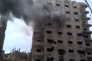 Activists: Shelling of Syrian city resumes