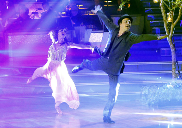 Karina Smirnoff and Gavin DeGraw perform on &quot;Dancing With the Stars.&quot; 