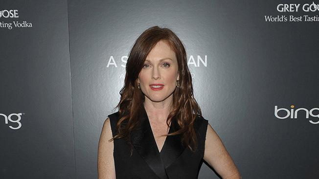 A Single Man NY Screening 2009 Julianne Moore