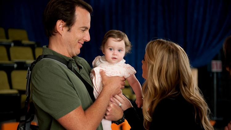 "Will Arnett as Chris, Carly Prince as Amy, and Christina Applegate as Reagan in ""Up All Night."""