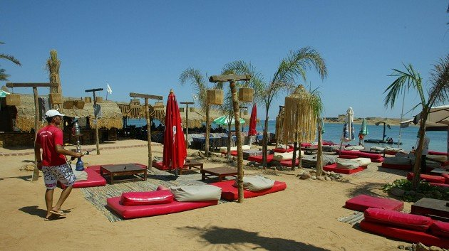 A British national has died in the Egyptian holiday resort of Sharm el-Sheikh, the Foreign Office said