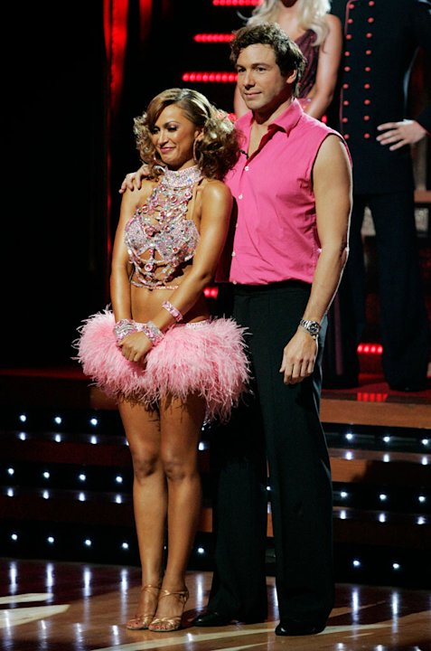 Karina Smirnoff and Rocco DiSpirito are the fifth couple to be eliminated on the seventh season of Dancing with the Stars.