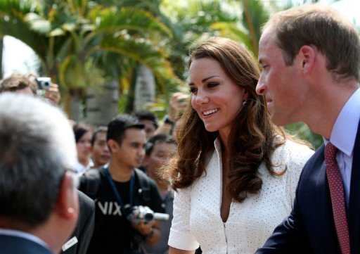 The palace said the royal couple &quot;remain focused&quot; on their tour