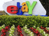 In this April 22, 2011 photo, the eBay logo is displayed outside of eBay headquarters in San Jose, Calif. EBay Inc. reports quarterly financial results Wednesday, July 20, 2011, after the market close. (AP Photo/Paul Sakuma)