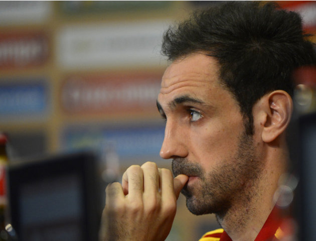 Spanish Forward Juanfran Looks AFP/Getty Images