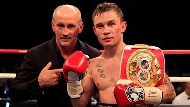 Carl Frampton Barry McGuigan (photo: Matchroom Boxing)