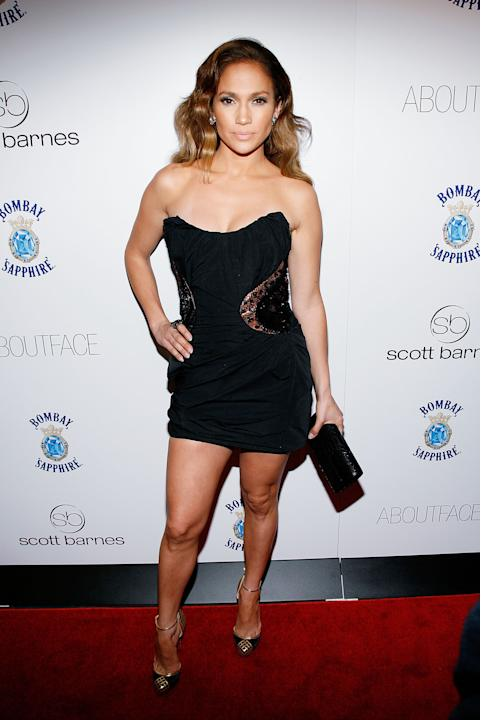 J.Lo in Louis Vuitton