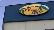 Plaza Deli is located across the street from the Yvon Trudel&#39;s former residence in Salaberry-de-Valleyfield.