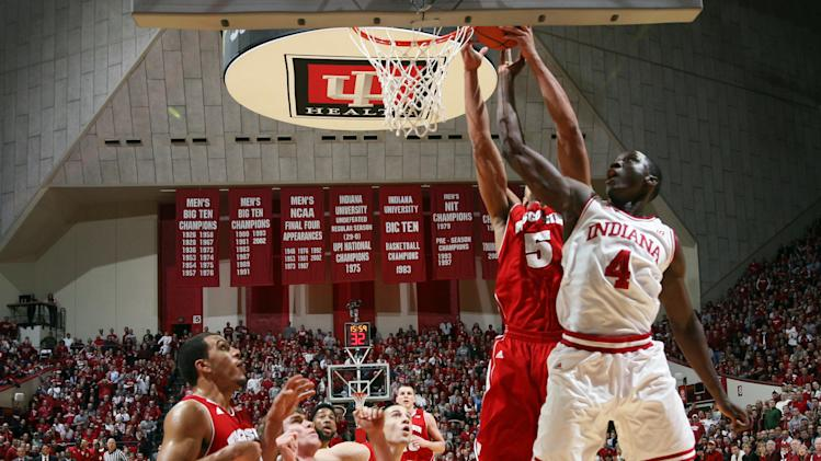 NCAA Basketball: Wisconsin at Indiana