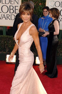 Lisa Rinna 63rd Annual Golden Globe Awards - Arrivals Beverly Hills, CA - 1/16/05