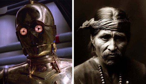 Fluent in over six million forms of communication, perhaps C-3PO can help...