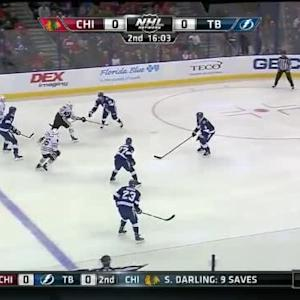 Ben Bishop Save on Bryan Bickell (03:58/2nd)