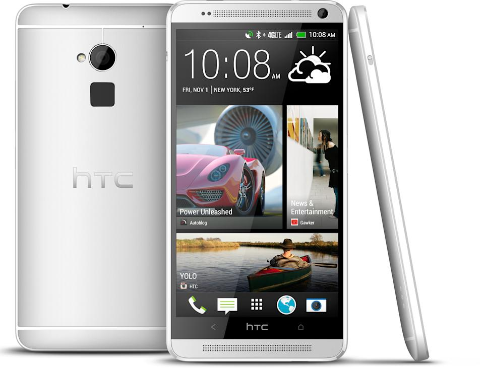 HTC offers larger phone, with fingerprint sensor