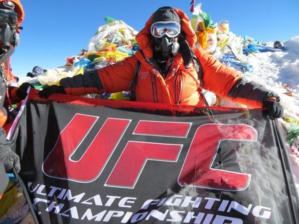 UFC Summits Mt. Everest… Via Ruben Payan