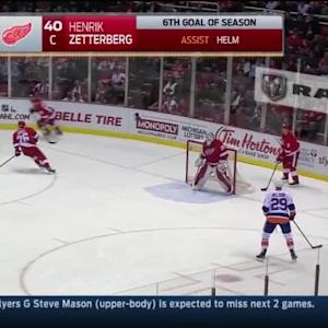 NY Islanders Islanders at Detroit Red Wings - 12/19/2014