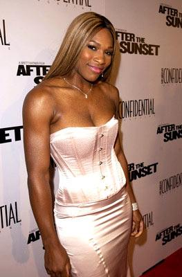Serena Williams at the Hollywood premiere of New Line Cinema's After the Sunset