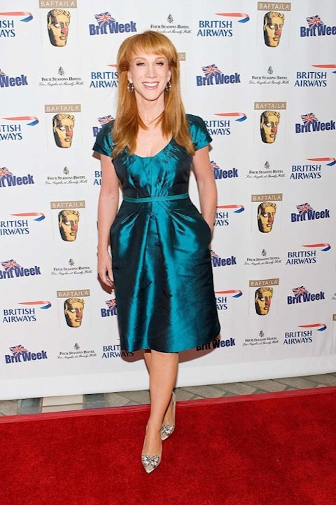 Actress Kathy Griffin arrives at the 2nd Annual British Comedy Festival at the Four Seasons Hotel on May 8, 2009 in Beverly Hills, California. Kathy Griffin 