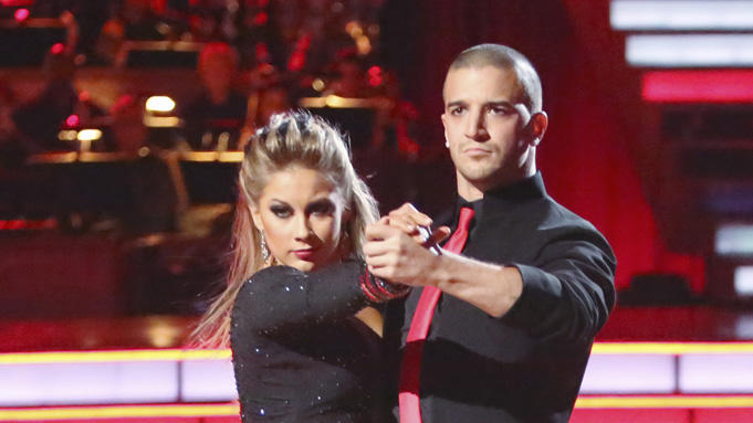 Shawn Johnson and Mark Ballas (11/5/12)