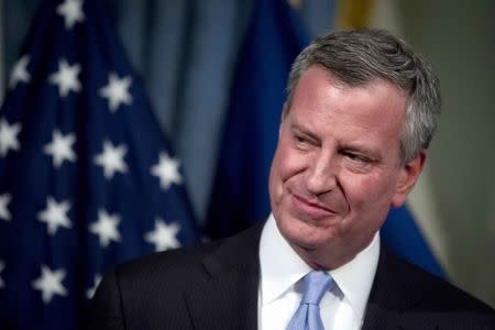 New York Mayor de Blasio named PETA's Person of the Year