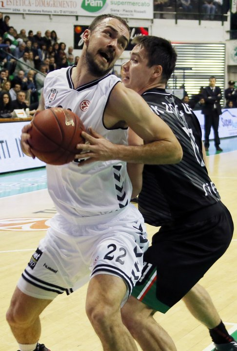 BASKET-EURL-MONTEPASCHI SIENA-BESIKTAS ISTANBUL