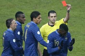 Pogba: Red card was harsh