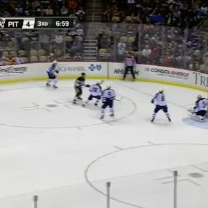 Ondrej Pavelec Save on Marcel Goc (13:06/3rd)