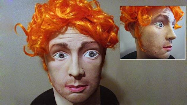 James Holmes Halloween Mask on eBay (ABC News)