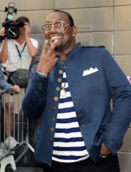 """American Idol"" Season 12 judge Randy Jackson arrives for day one auditions at Jazz at Lincoln Center on Sunday, Sept. 16, 2012 in New York. (Photo by Evan Agostini/Invision/AP)"