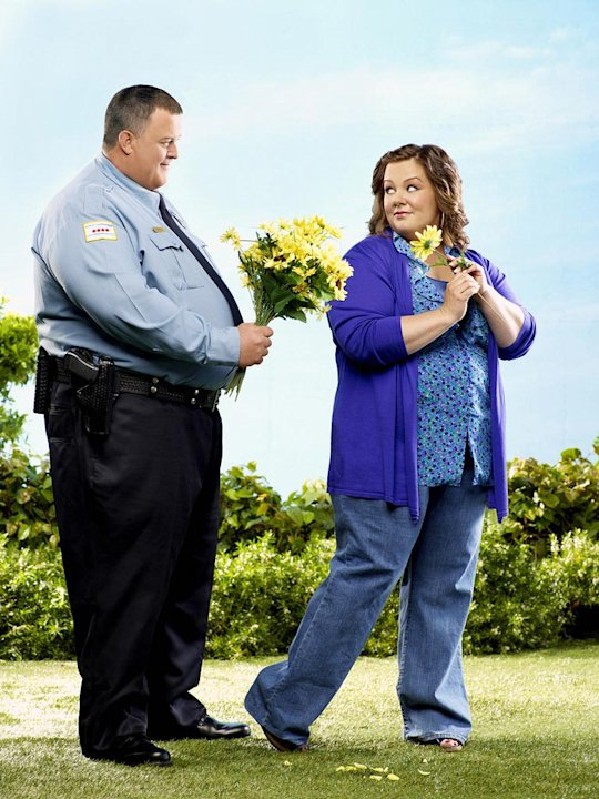 "The cast of  ""Mike & Molly."""