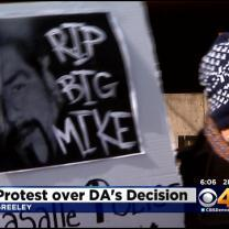 Protesters Rally Against DA's Decision In Deadly Police Shooting