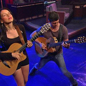 "Rodrigo y Gabriela - ""The Soundmaker"" on David Letterman"