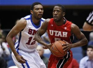 SMU wins 62-55 over Utah, 7-1 under Larry Brown
