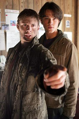 Jensen Ackles and Jared Padalecki The WB's Supernatural