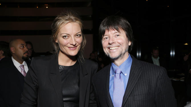 IMAGE DISTRIBUTED FOR IDA - Lucy Walker and Ken Burns attend the 28th Annual IDA Documentary Awards After Party Sponsored By Canon at the DGA Theater on Friday, Dec. 7, 2012 in Los Angeles.  (Photo by Todd Williamson/Invision for IDA/AP Images)