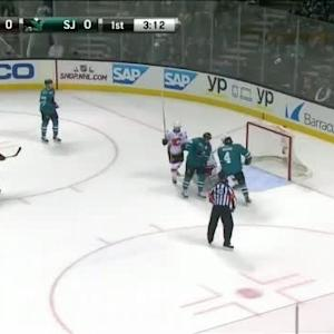 Karri Ramo Save on Patrick Marleau (16:48/1st)