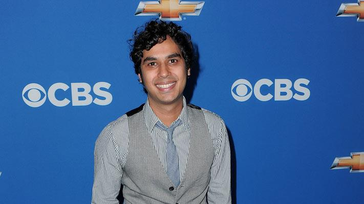 "Kunal Nayyar of ""Big Bang Theory"" arrives at the CBS Fall Season Premiere party at The Colony on September 16, 2010, in Los Angeles."