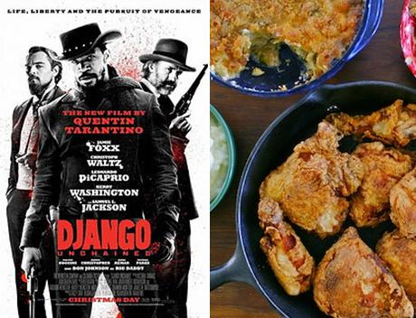Django Unchained: Classic Southern Fried Chicken, Mac 'n' Cheese, and Cherry Cobbler