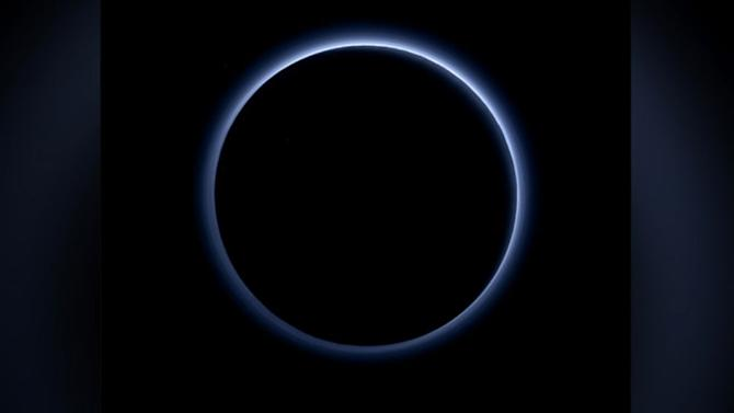 New Horizons Space Probe Finds Brilliant Blue Skies, Water Ice on Pluto