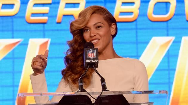 Beyonce speaks onstage at the Pepsi Super Bowl XLVII Halftime Show Press Conference at the Ernest N. Morial Convention Center on January 31, 2013 -- Getty Images