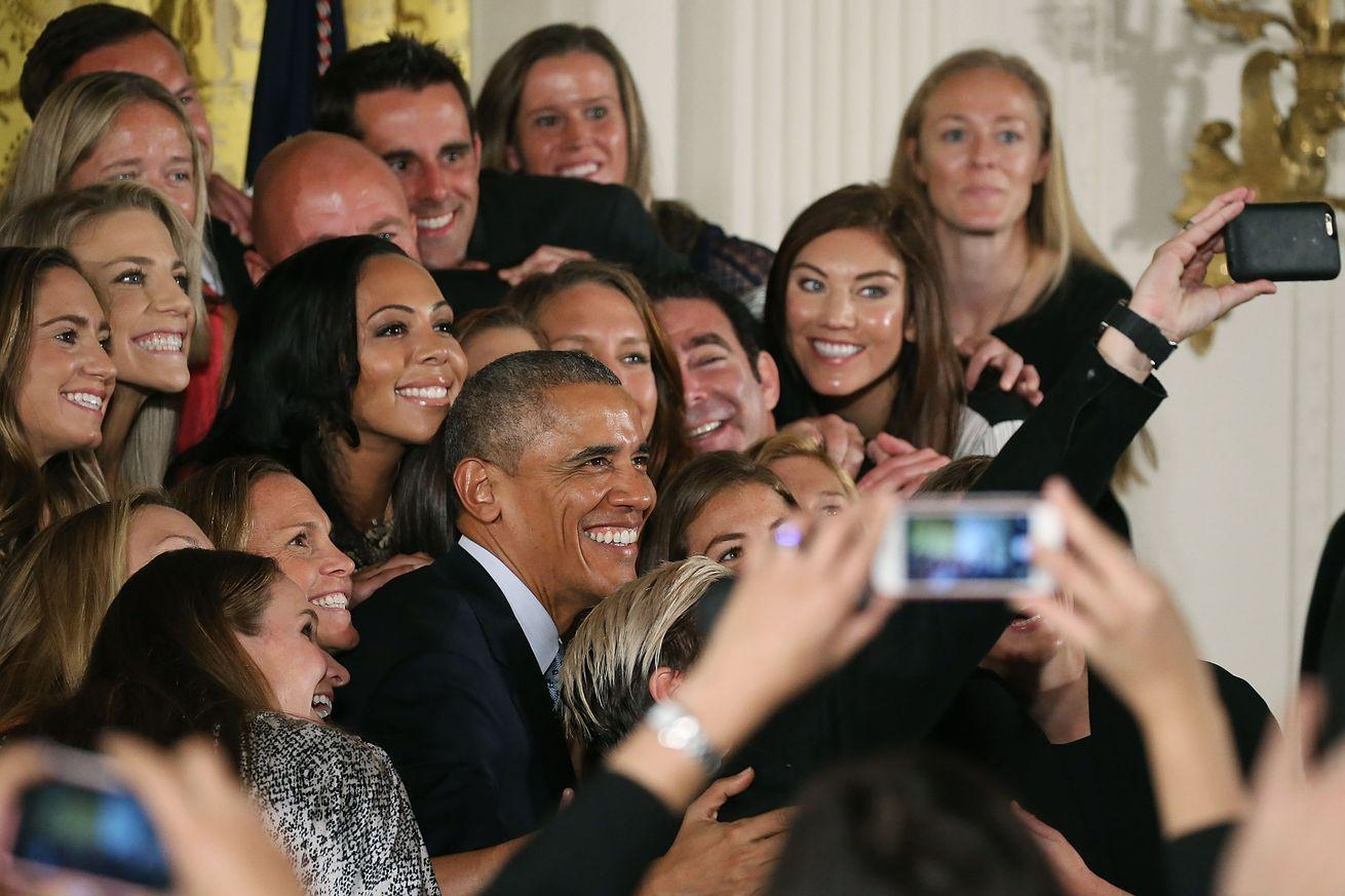 President Obama is officially tired of selfies