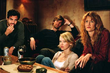 Mark Ruffalo , Peter Krause , Naomi Watts and Laura Dern in Warner Independent Pictures' We Don't Live Here Anymore
