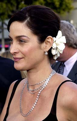 Premiere: Carrie Anne Moss of Lethal Tender at the Hollywood premiere of Warner Brothers' The Matrix: Reloaded - 5/7/2003