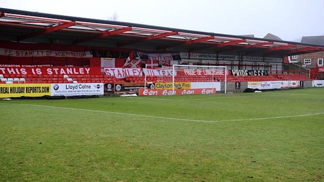 Accrington Stanley's Crown Ground has been renamed as the Store First Stadium
