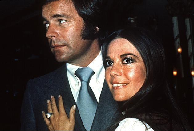 In this 1980 file photo, actor Robert Wagner appears with actress Natalie Wood. Los Angeles sheriff's homicide detectives are taking another look at Wood's 1981 drowning death based on new inf