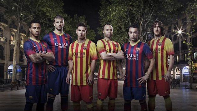 Liga - Barca offer up 'Homage to Catalonia' with new kits