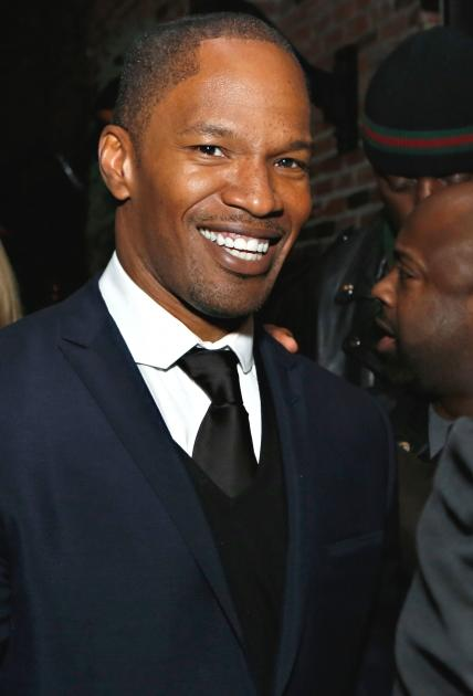 Jamie Foxx attends the 'Django Unchained' NY premiere after party at The High Line Room in The Standard Hotel December 11, 2012 in New York City -- Getty Premium