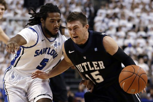 Saint Louis knocks off No. 9 Butler 75-58