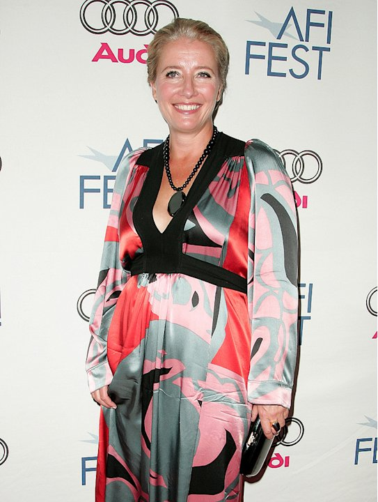 AFI Film Festival 2008 Emma Thompson Last Chance Harvey premiere