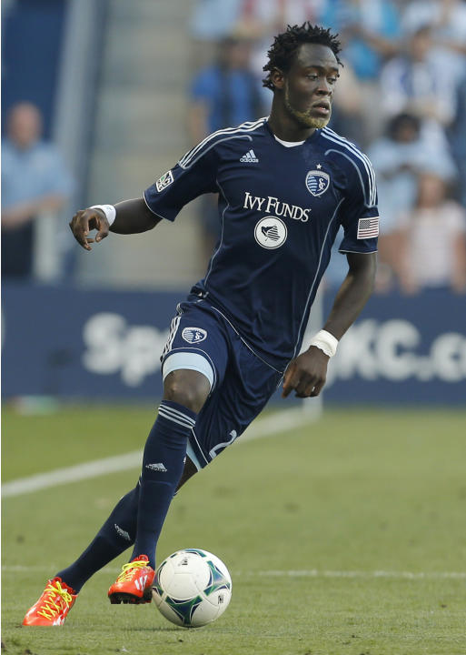 MLS Revolution Sporting KC Soccer