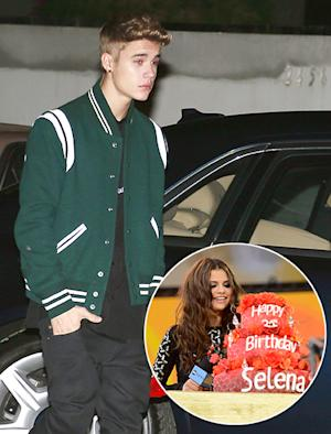 Justin Bieber Attends Selena Gomez's Birthday Party, Brings Singer Single Red Rose